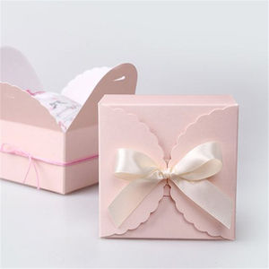 wholesale custom design cheap paper cake box cupcake box