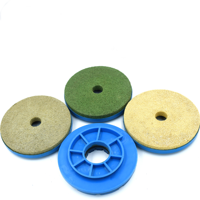 XMGT4 inch 100mm diamond Wet Polishing Pads with Snail Lock for Granite