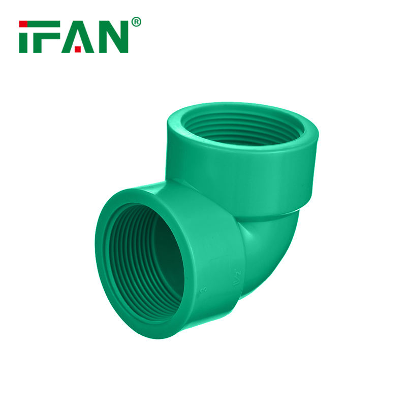 IFAN Manufacturer Green Color Upvc Pipe Elbow Upvc Pipe Fittings