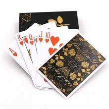 Brand New Custom Pvc Playing Cards Waterproof Poker Plastic Playing Card