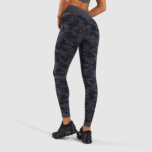 Dropshipping Nahtlose Leggings Frauen Fitness Läuft Yoga Hosen Hohe Taille Leggings Push-Up Sport Camo Gym Leggings