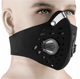 China Manufacturer Activated Carbon Filter Pm2.5 Anti Dust Bicycle Motorcycle Cycling Sport Mask Facemasks With 2 Valves