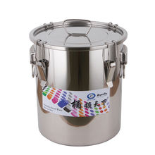 Steel Barrel 200 liters Stainless Steel Storage Drum For Beer Silicone Sealing Ring