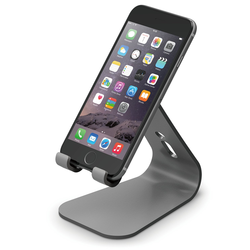 Smartphones Stand table stand-[Cable Management] - fits for