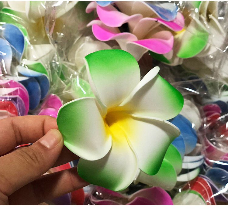 Hawaii Kust Party Decoratie Frangipan <span class=keywords><strong>Plumeria</strong></span> Ei Bloem Shell Decoratie