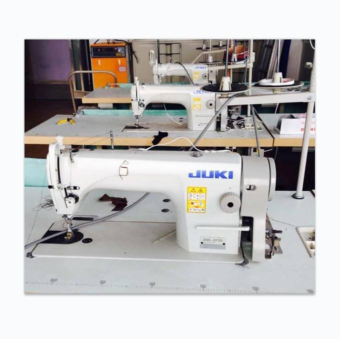 Secondhand Single Needle JUKIS DDL-8700 Industrial Sewing Machines Price