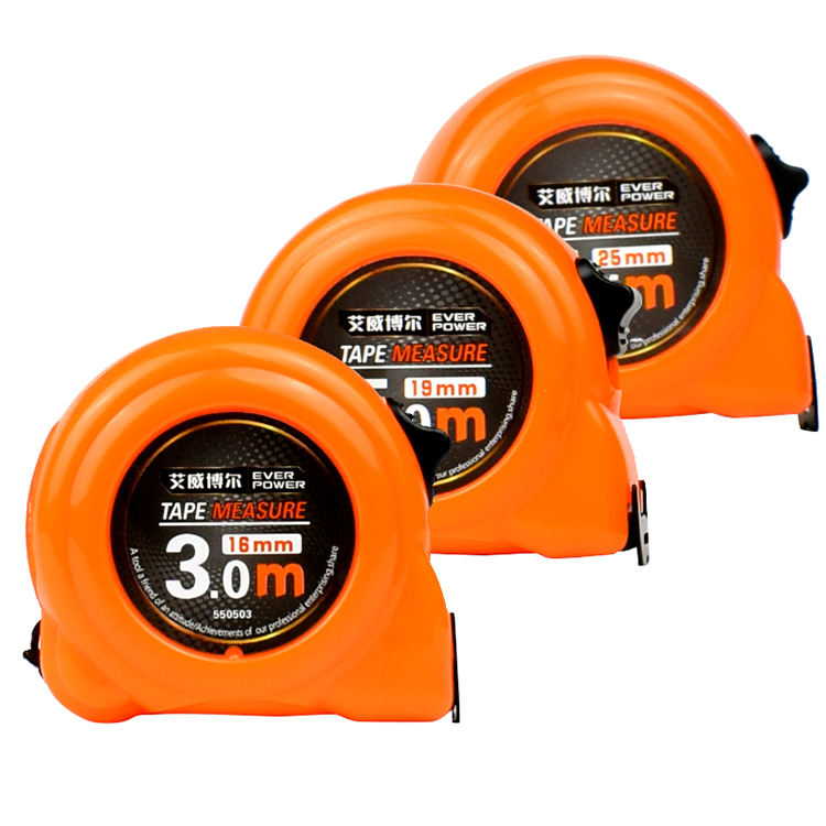 EVERPOWER Hot Sale Professional 5m Orange High Precision Tape Measure For Household Daily Use