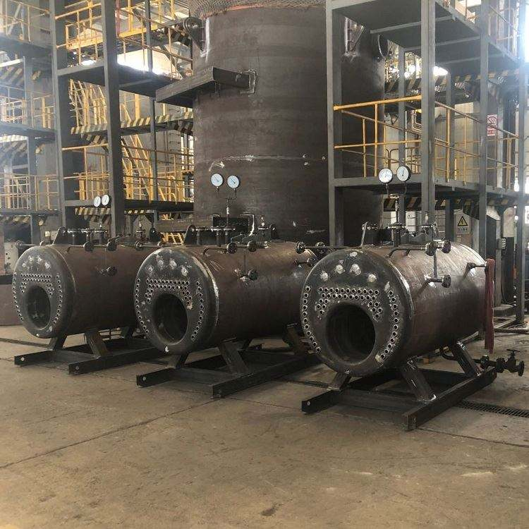 Industrial Use Diesel Oil Fired Steam Engine Generator Natural Gas Fired Boiler For Vulcanized
