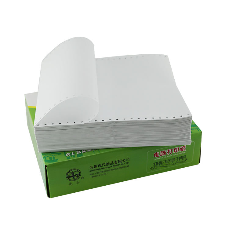 9.5*11 continuous paper printing reams of paper in china provide free sample