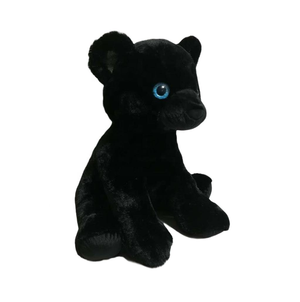 Wholesale Factory direct custom Amazon OEM/ODM big size soft stuffed animal 22.5 inch Sitting Panther