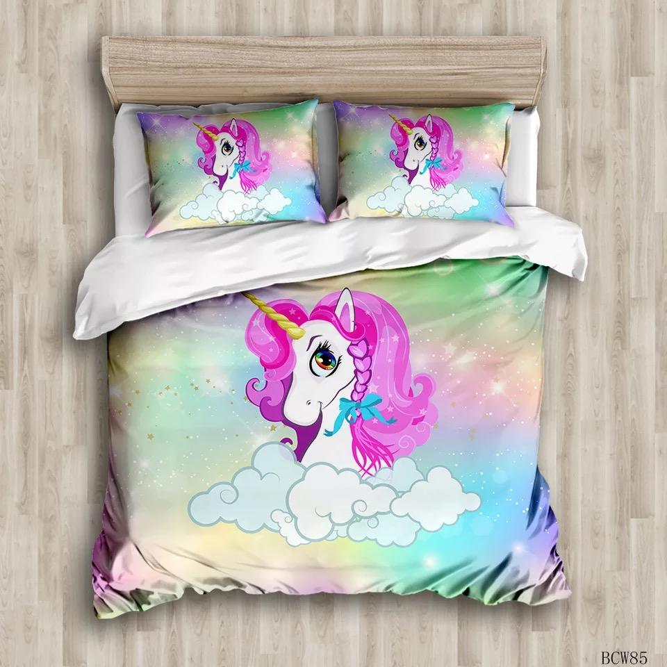 Luxury bed sheets Microfiber Christmas Comforter Duvet Cover, 3D kids Frozen character bedding sets.