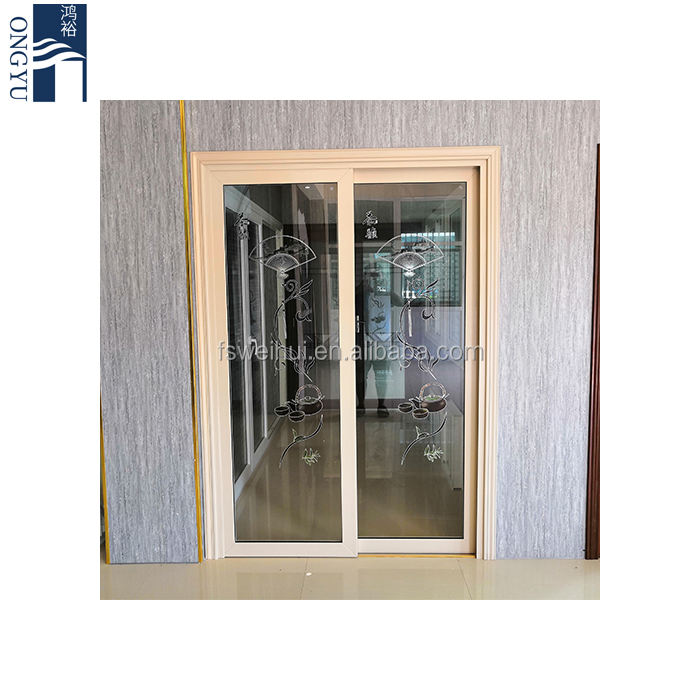 Boat Screen American Electric Anti Theft Upward System Turkish Pivot Cheap Used Vinyl Trackless Window Motorized Sliding Door