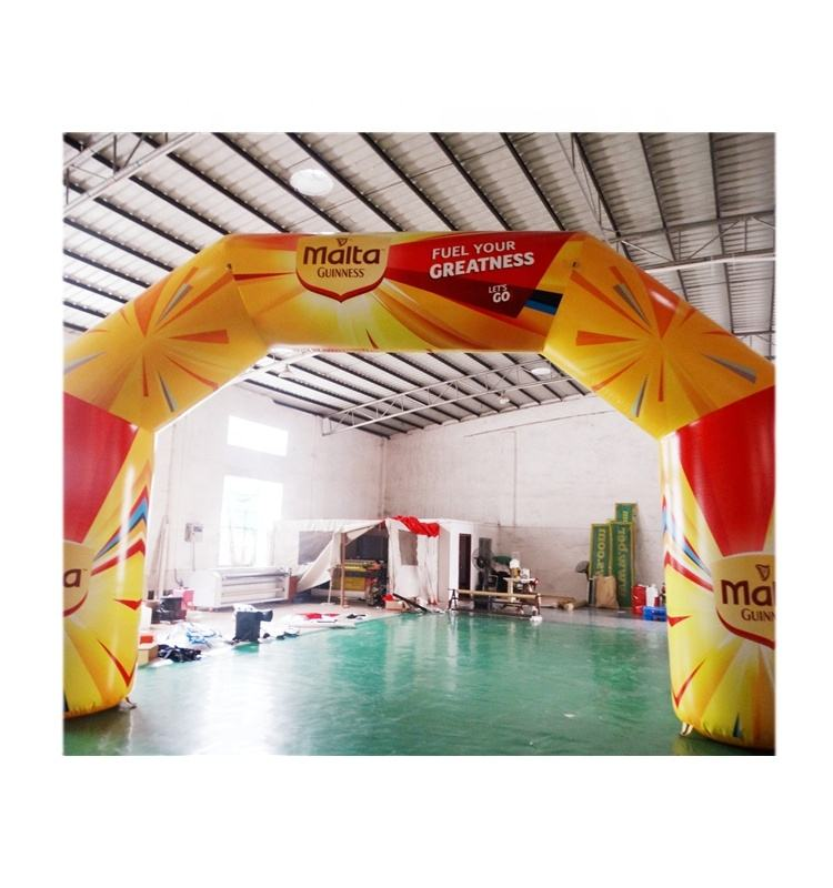 Hot Sale Full Printing Inflatable Arch for advertising