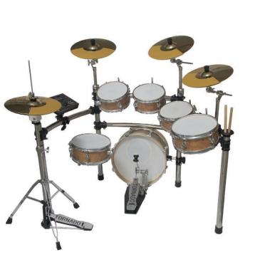 High quality Electronic Drum Set EDS 908-175S Electric Drum kit