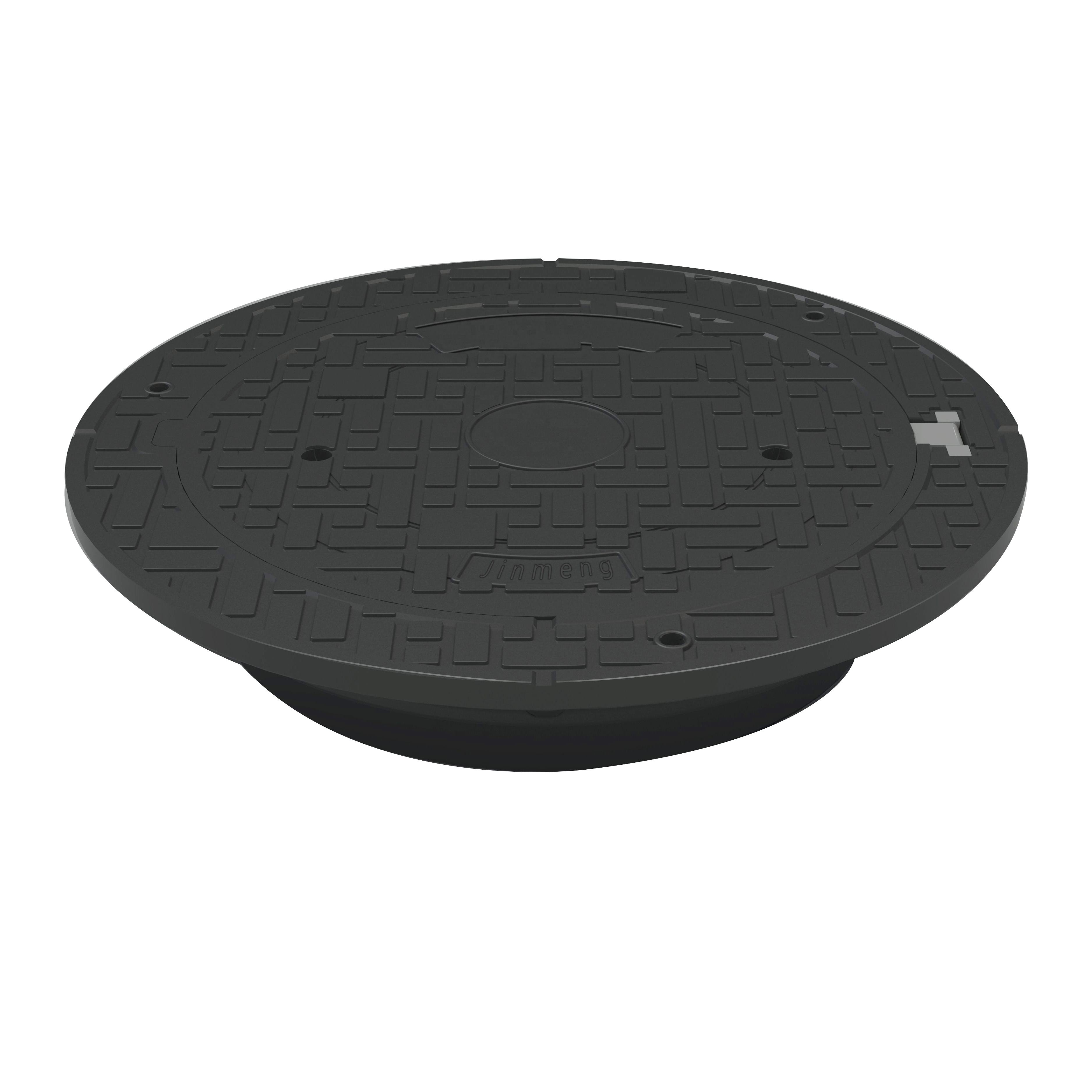 Self-leveling floating anti theft manhole cover resin manhole cover Composite medium duty manhole cover