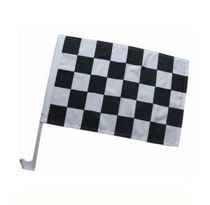 CUSTOM แห่งชาติมือ Waving ธง Flags MINI Checkered ธง NASCAR Racing Favor Checkered FLAG