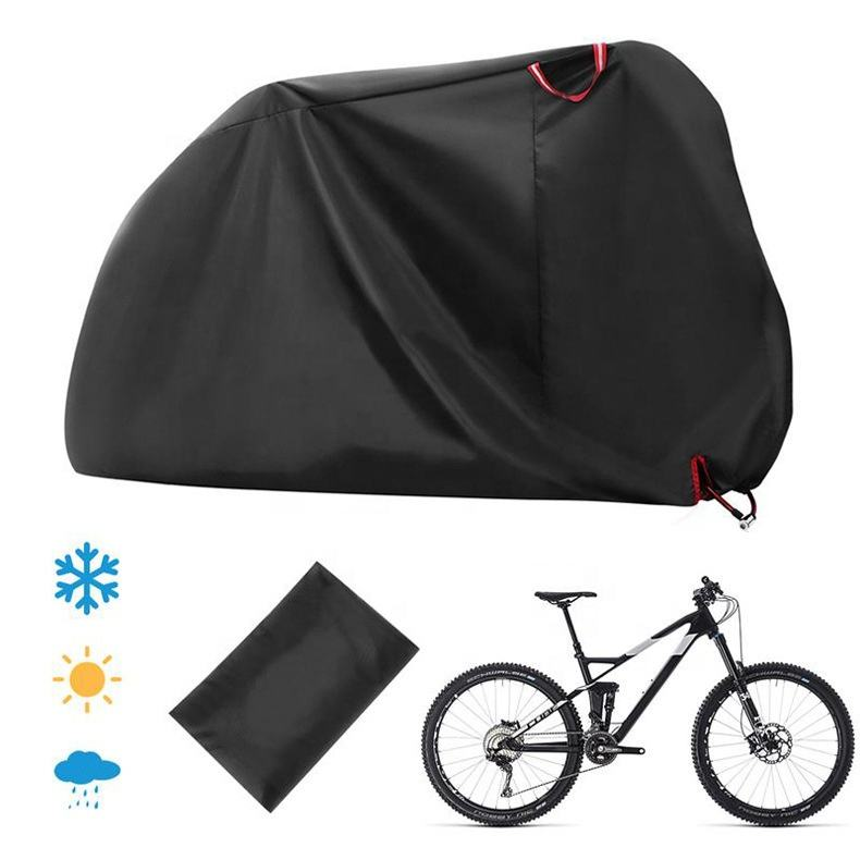 Wholesale Outdoor Dust-Proof Oxford Cloth Bike Rain Cover Waterproof Bicycle Covers With Lock Hole