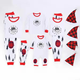 Christmas Outfits Girl 2020 Hot Selling White Toddler Nightmare Before Kids Christmas Outfits For Baby Girl