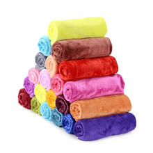 Multi-colored Cheap Hair Salon Towel 400gsm Super Absorbent Microfiber Towel