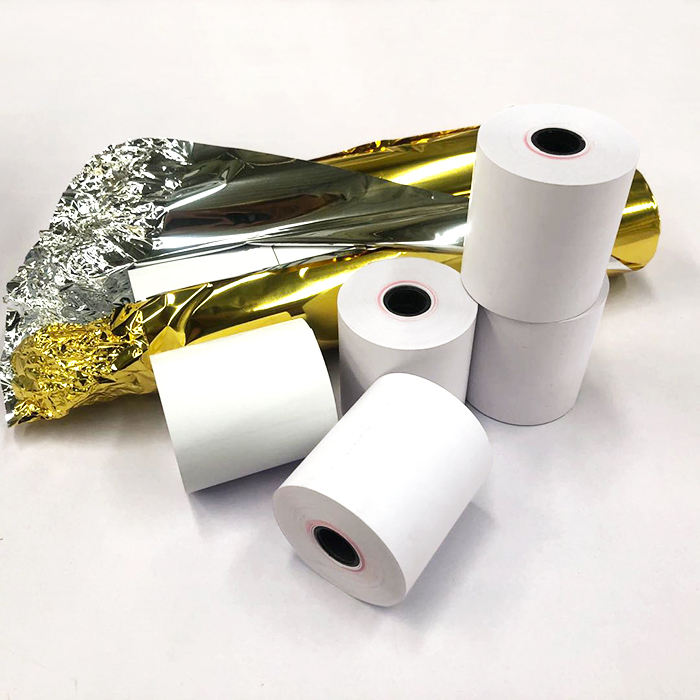 China Top Manufacturer Ncr Ecg Printed Aim-Thermal Paper Rolls
