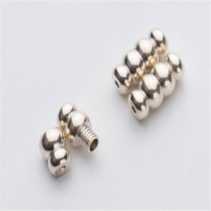 Brass 925 Silver The Screws Wholesale Custom 925 Sterling Silver Clasp Connector Jewelry Screw