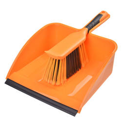 Jumbo Dustpan Bulldozer Large Brush Set Shovel Pan Scrubber