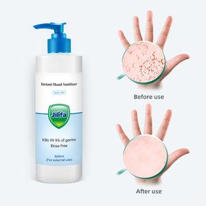 500ml antibacterial moisturizing disinfection silver ion gel hand sanitizer