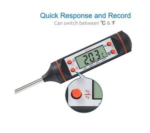 TP101 digital BBQ Meat Food Kitchen thermometer cooking Milk probe thermometer