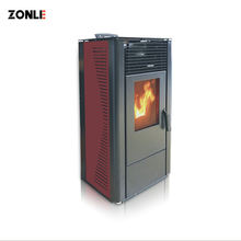 Zhongli 10kW  Cast Iron Domestic Pellet Stove China, Wood ECO-friendly Pellet Stove