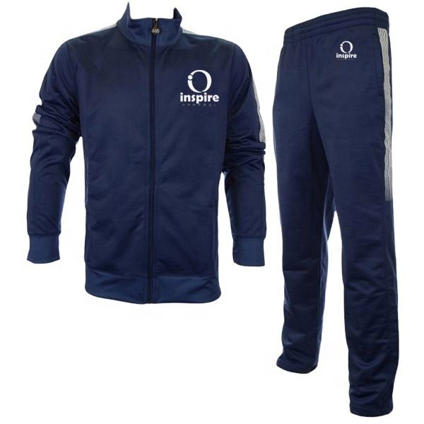 Men Training Jogging Running Sports Wear Gym Fitness Track Suit Sports Full Tracksuit set on Sale