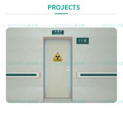 lead sheet door for medical facility