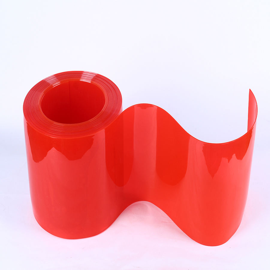 Anti UV Flexible Transparent De Pvc De Soudure En Plastique Bandes Rideaux Rouleaux