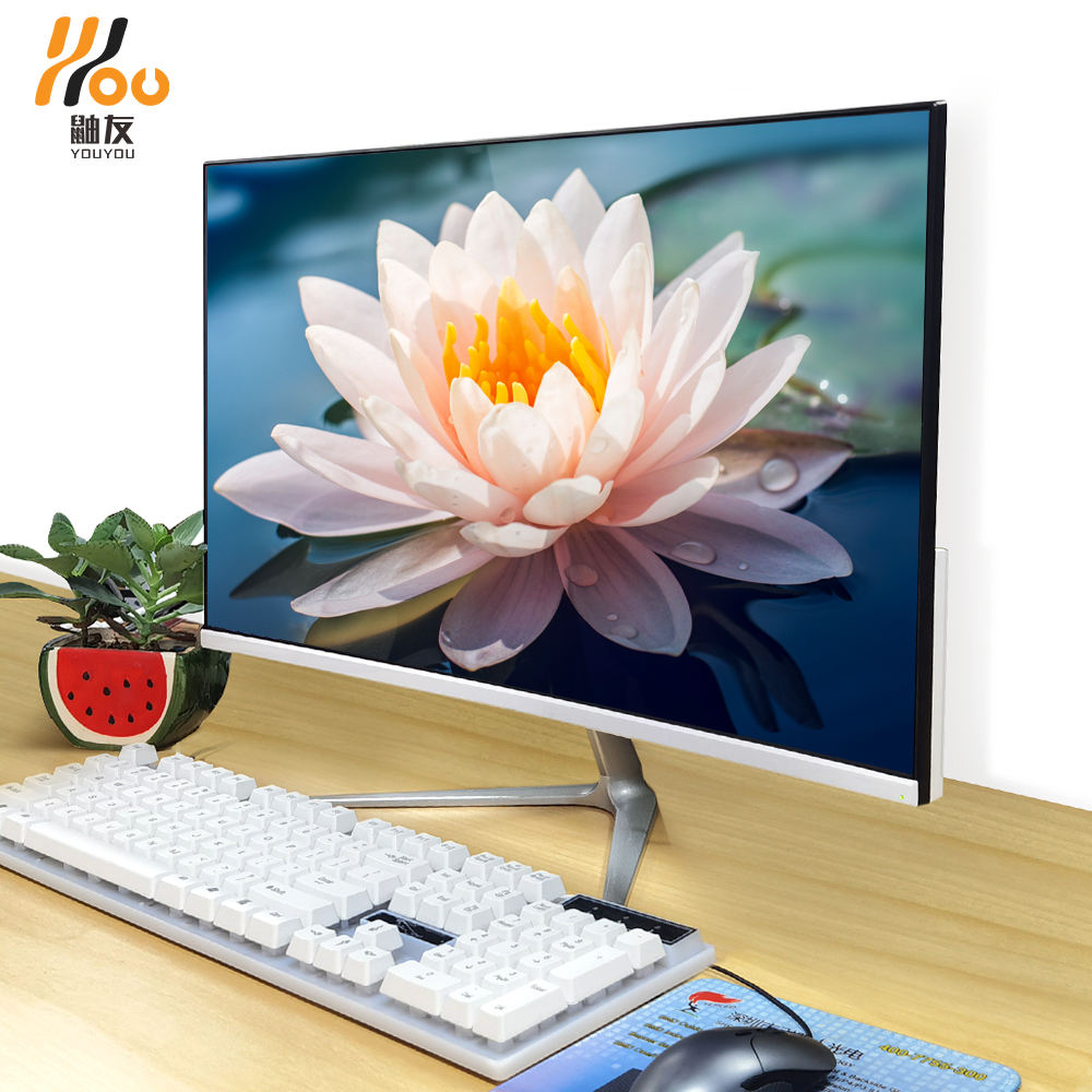 YOUYOU brand Desktop computer office use 19.1 inch led monitor i5-460 8G 480GB memory SSD WiFi 2.4GHz aio pc