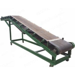 Customized Mobile automatic Simple Customized Steel Pvc Stainless Conveyor Belts small production lines