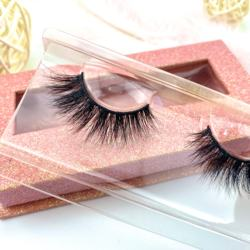 Manufacturer Vendors Handmade 3D Mink Eyelashes With Custom Box Your Own Brand Lashes