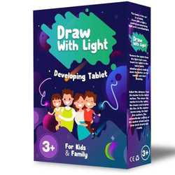 Kid Light Drawing Pad Luminescent Board Glow in Dark Painting Developing Educational Toy