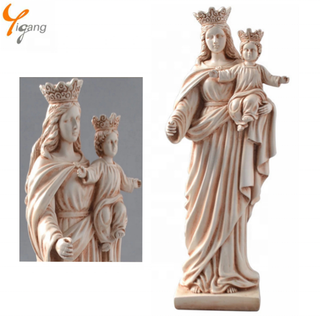 Grace Blessed Virgin Mary Mother Religious Large Statue Resin Figure