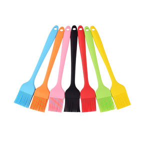 8.2in Silicone Pastry Basting BBQ Sauce Cooking Oil Brush