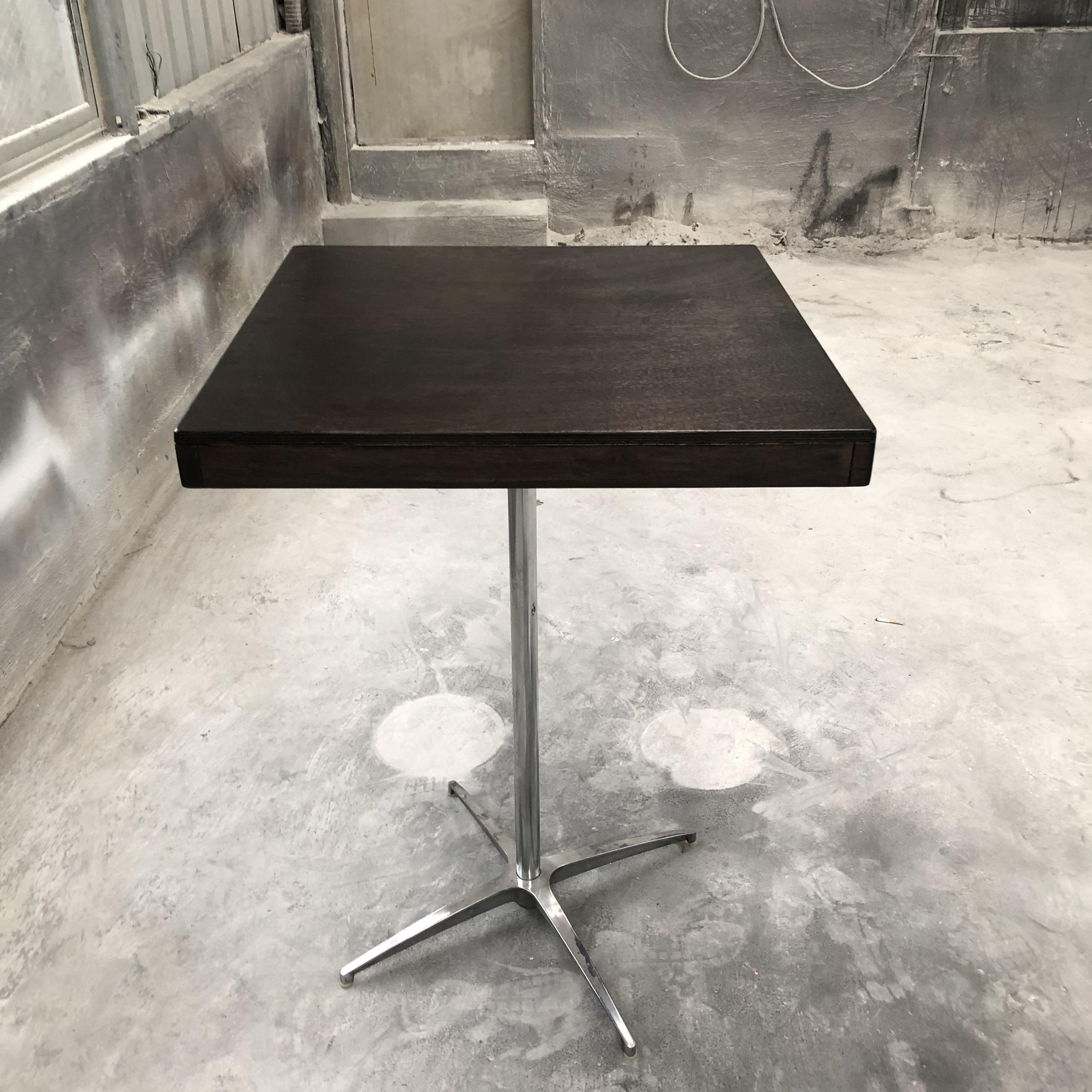 Di alta qualità moderna di Vendita Calda durevole di legno quadrato <span class=keywords><strong>tavolo</strong></span> da <span class=keywords><strong>cocktail</strong></span>