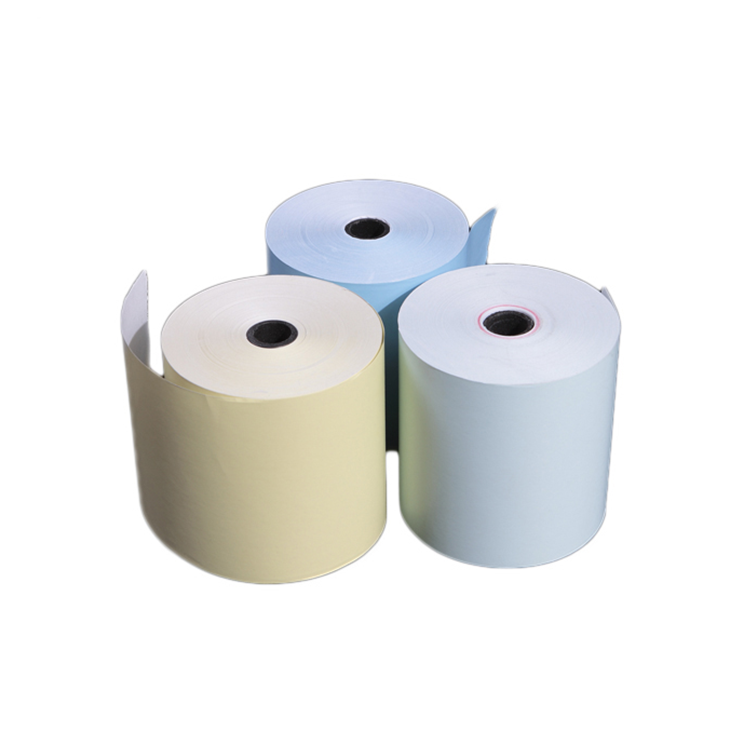 High Quality Low Price Carbonless Copy Paper NCR Paper Non A4 white Carbon Paper Roll