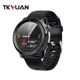 Smart Watch Led TKYUAN 1.3inch Full Touch Screen Protector IP68 Waterproof Blood Pressure ECG Oxygen Smart Watch L15 For Men With LED Light