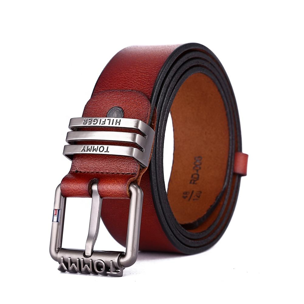 Fashion Custom High Quality Men Genuine Leather Belts