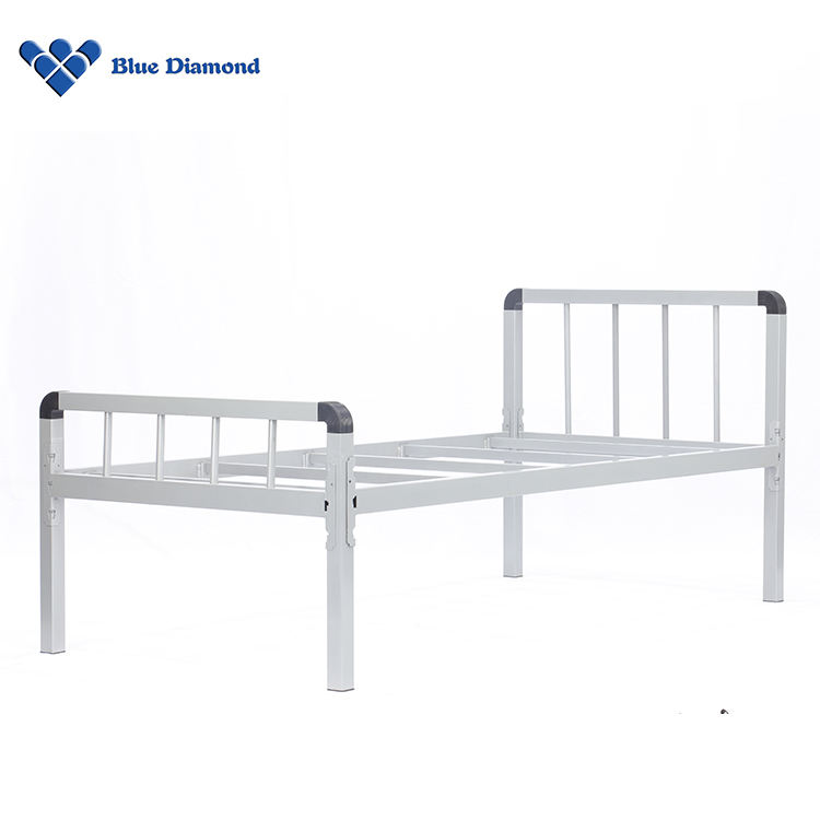 2 in 1 Combined Metal Bed Dormitory Bunk Beds Double Student Bed Frame for Sale Philippines