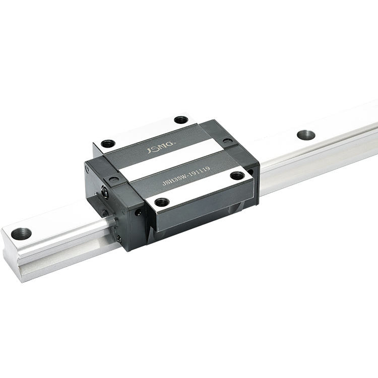 HOT Sale Bearing Steel Lead Rail 100% Tasted JSH30 Series Linear Motion Rolling Guide Rail Block For Rolling Machine