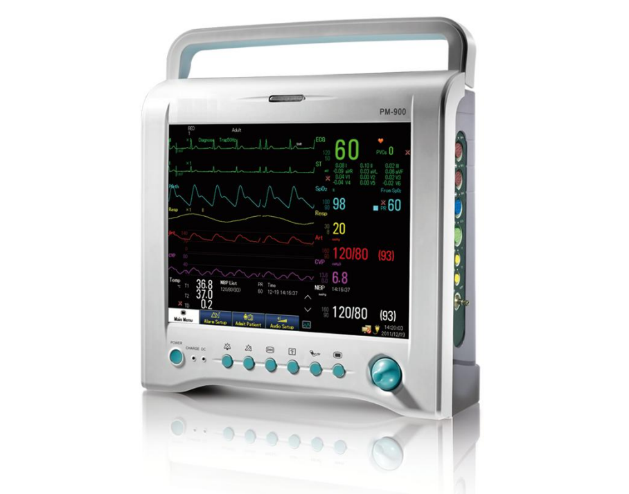 Medical equipment Multi-parameter portable patient monitor price with spo2 & co2 for hospital ICU