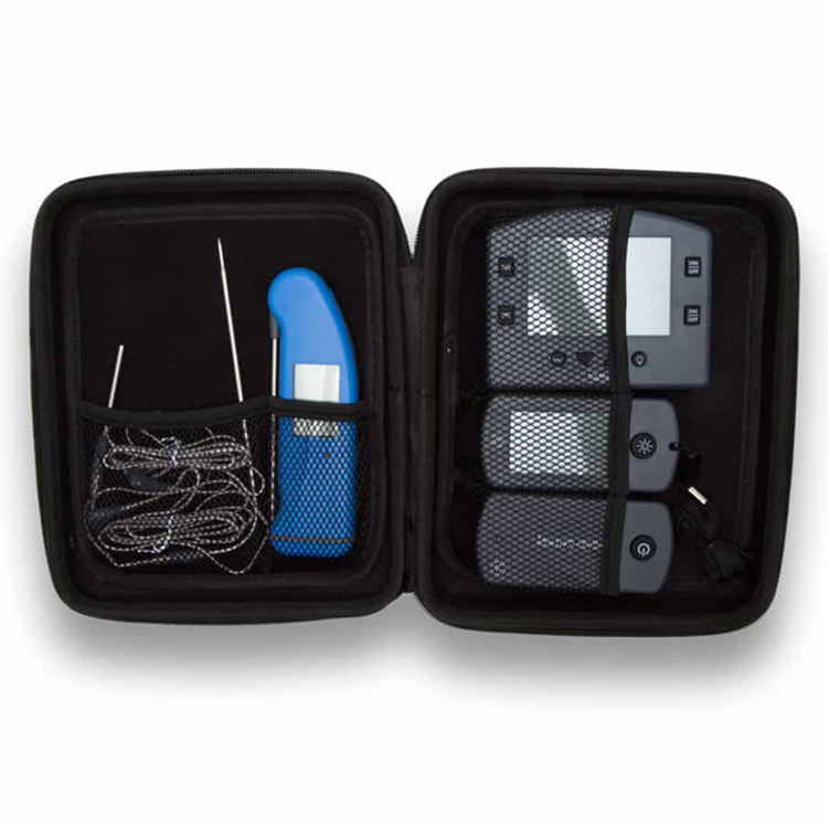 China Factory Custom Zipper Carry Case For Thermometer And Probes