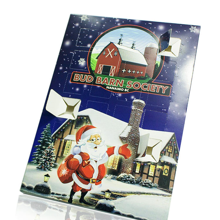 Custom Countdown to Christmas Chocolate Advent Calendar (FOOD Grade)