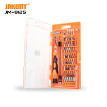 JAKEMY 8125 58 IN 1 Professional Screwdriver Set DIY Cell Phone Repair Kit Hand Tool for Cellphone Camera Electronic Products