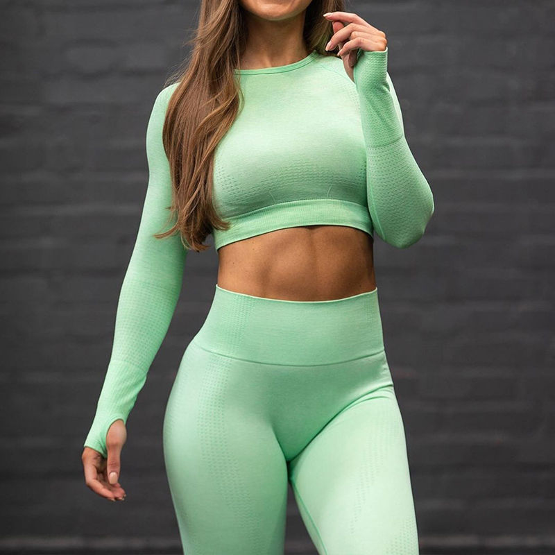 Women Yoga Gym Sets Fitness Sports Sportswear Short Shirt Pantalones Athleisure Workout Gym Yoga Pants Running Sports Leggins