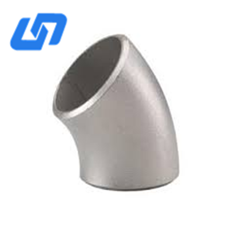 Factory supply Gr2 high quality ASME B16.9 45 degree titanium elbow for sale